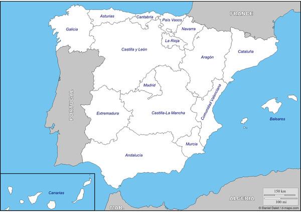 Mapas Didácticos De España Mapasenpdf Com