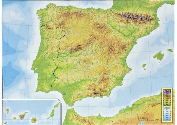 Mapa De Espana Pdf.Mapas Didacticos De Espana Mapasenpdf Com